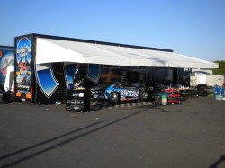 The pit area