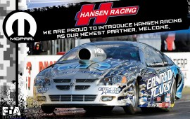 Pressrealse Hansen Racing